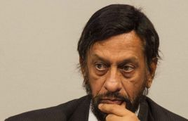 [Just in] TERI chief Pachauri sacked, replaced by Ajay Mathur
