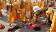 योगी के जनता दरबार में भगदड़, कई घायल