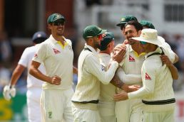 Australia crush England at Lord's, level Ashes series 1-1