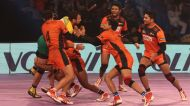 Pro Kabaddi League: U Mumba cement title credentials with dominant first leg display