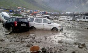 3 killed, 9 injured in cloudburst near Amarnath base-camp
