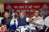 Sushil Kumar Modi slams Nitish Kumar, releases BJP report card for Bihar
