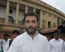 राहुल गांधी: अगस्ता मामले में निशाना बनाए जाने पर मैं खुश