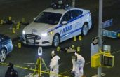 New York bomber nabbed after shootout; charged with attempted murder