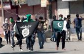 False colours: why protestors in Kashmir are waving ISIS flags