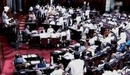 Opposition stages walkout in Lok Sabha after first adjournment