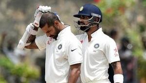 Pallekele Test, Ind vs SL: Dhawan, Rahul shine before Lanka fight back