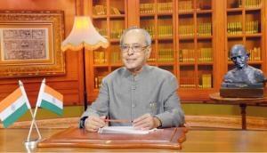 President Mukherjee to address nation today on eve of demitting office