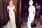 Lady Gaga's back-to-back white looks will make you forget her bizarre fashion moments