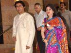 Raj Thackeray's wife mauled by his pet dog
