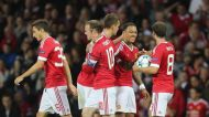 Memphis Depay dazzles in Manchester United's 3-1 win in first leg of Champions League playoff