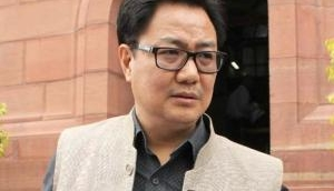 Union Minister Kiren Rijiju says 'Rohingyas will not be allowed to reside in India'