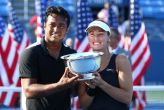 Leander Paes clinches historic US Open mixed doubles title with Martina Hingis