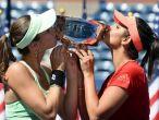 Sania Mirza, Martina Hingis clinch US Open women's doubles title