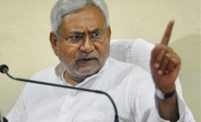 Nitish labels BJP 'anti-reservation', releases candidates list