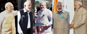 The Emperor's clothes: Modi changes 4 times in a day in Silicon Valley