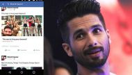 Shahid Kapoor's Facebook account hacked at night, things fine now