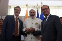 Bill Gates delighted after his meeting with Modi over sustainable energy