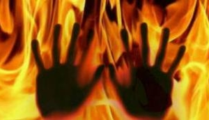 Rajasthan: Wife sets herself ablaze after being harassed, husband sends video to her parents