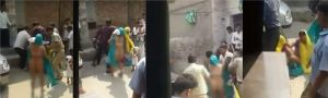 UP Police thrashes Dalit couple and allegedly strips them