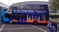 Indian community in UK launches 'Modi Express' bus