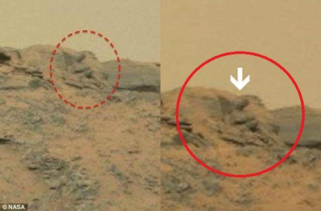 UFO spotters believe NASA image shows Buddha statue on ...