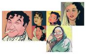 RK Laxman & the Uncommon Man: 8 celebrity cartoons by the legend