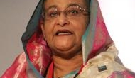 बांग्लादेश की प्रधानमंत्री शेख हसीना ने किया रोहिंग्या शरणार्थियों के कैंप का दौरा