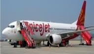 Spicejet flight tire burst during take-off at Chennai
