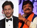 Congress slams BJP leader for questioning SRK's patriotism, #KailashVijayvargiyaLeaveIndia trends on Twitter