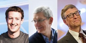 The 6 most powerful people in the world of technology