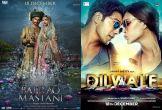 Bajirao Mastani, and Dilwale look to woo Tamil and Telugu audiences