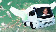 KCR's 5 crore bus & 3 crore yagya a cruel joke on Telangana's farmers