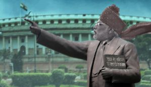 Why Modi is so desperate to own the constitution, and Ambedkar