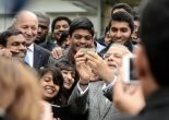 What journos asked the PM at BJP's Diwali Milan: may I take a selfie with you?