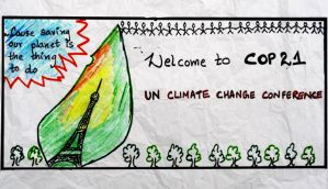 #COP21: Here's what happened on Day-1 in simple sketches