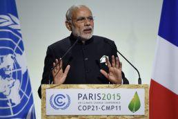 #UNCOP21: Need 100 billion USD for 'mitigation and adaptation', says PM Modi