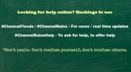 If you're stuck in #ChennaiFloods here are a few Do's and Don'ts