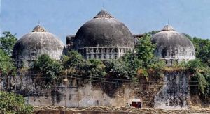'Qutub Minar and Taj Mahal are fully Islamic structures, but Babri Masjid was built on the ruins of temple'