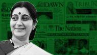 सुषमा स्वराज की यात्रा: थोड़ा सशंकित, थोड़ा संयमित पाकिस्तानी मीडिया