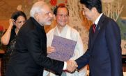 Narendra Modi to hold talks with Shinzo Abe to seal bullet train deal on Saturday