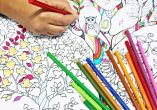 Yoga's so 2015: colouring books for adults are the new de-stress therapy