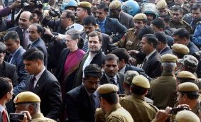 National Herald: Sonia and Rahul get bail, revel in their victimhood