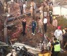 बीएसएफ का चार्टर्ड प्लेन क्रैश, 10 की मौत