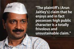 What defamation? Arvind Kejriwal thinks Arun Jaitley has no public reputation to defame