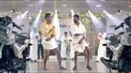 Video: MS Dhoni and Prabhudeva's lungi dance is the stuff dreams are made of