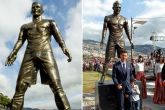 After Messi's Ballon d'Or win, Cristiano Ronaldo's statue in Portugal vandalised