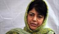 कश्मीर: बौखलाई महबूबा, बोलीं- 35 A को हाथ लगाया तो सारा जिस्म जलकर राख हो जाएगा