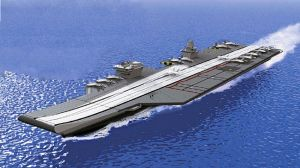 Meet INS Vishal. The vessel may turn out to be India's flagship