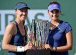 Sania Mirza and Martina Hingis sail into second round of Australian Open
